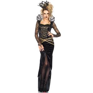 Evil Sorceress Costume, Wicked Witch Costume, Evil Queen Costume, #N11790