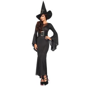 Halloween Costumes, Witch Halloween Costume wholesale, Sexy Witch Costume, Adult Costume, #N11792