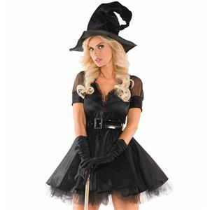 Halloween Costumes, Witch Halloween Costume wholesale, Sexy Witch Costume, Adult Costume, #N11793
