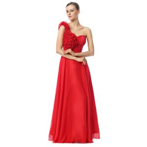 Maxi Dress, Long Cheap Dress, Prom Dress For Cheap, Red Flowers Prom Dresses, Women