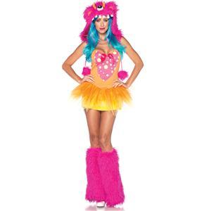 Exclusive Tutu Tootsie Monster Costume, Exclusive Monster Costume, Adult Monster Costume, Boo Monster Costume, #N4437