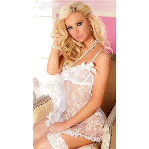 Eye Candy Babydoll And Thong, Lace Babydoll Lingerie, Bridal Baby Doll Lingerie, Valentines Day Babydoll, #N1229