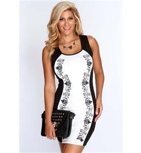Black and White Dress, Women