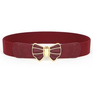Metal Waist Belt, Fashion Waist Belt, Elastic Waist Belt, Waist Belt for Women, Buckle Fastening Waist Belt, #N15367