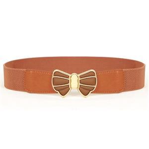 Metal Waist Belt, Fashion Waist Belt, Elastic Waist Belt, Waist Belt for Women, Buckle Fastening Waist Belt, #N15370