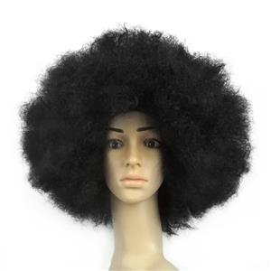 Fashion Wigs,Cheap Curly Wigs,Unisex Wigs,Wild-curl up Wigs,Explosion Head Curls,Natural Curly Hair Wig,Fluffy Explosion Head Wig,Natural Hair Modeling Wig,#MS19656