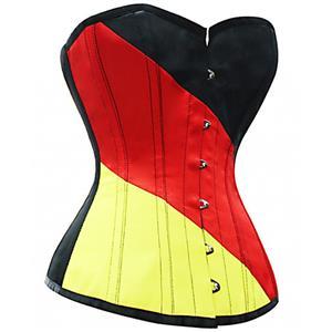 Fashion German Flag Corset N6520