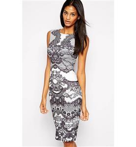 Fashion Lady Dress, Office Dress, Women