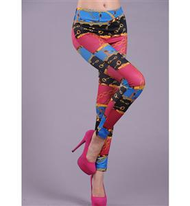 Fashion Leggings, Thick pants, Locking Pattern Leggings, #L5166