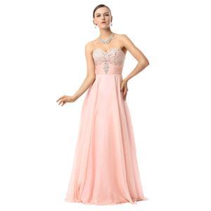 Lovely Maxi Dress, Floor-length Prom Dresses, Prom Dress For Cheap, Beading Prom Dresses, Women