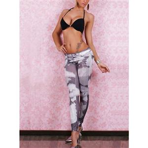 Fashion Dyeing Jeggings, Dyeing Fashion Pants, Swimmy Dyeing Leggings, #L5696