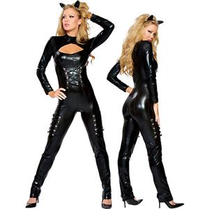 Sexy lingerie, Feline Queen Costume, sexy cat Costume, #P2030