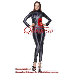Fever Skeleton Catsuit Costume N9070