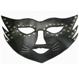 mask, cat mask, Leather mask, #MS2928
