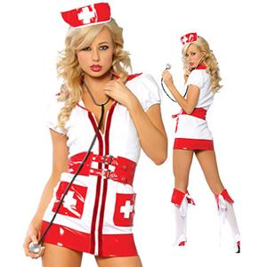 Nurse Costume, Sexy Nurse Costume, Flirty Nurse Costume, #M3163