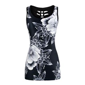 Fashion Digital Printing Vest, Women