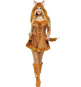 Foxy Roxy costume, Fox Halloween Costume, Foxy Lady costume, #N4814