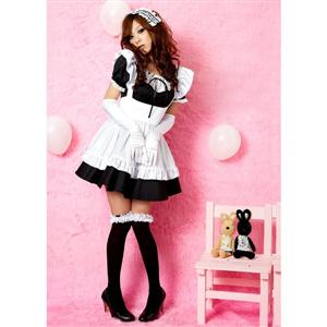 Maid Costume, Sexy Maid Outfits, Maid Costume Outfit Dress, #M3239