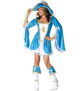 French Musketeer Costume, Women