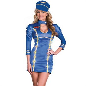 Come Fly With Me Costume, Pilot Costume, Sexy Pilot Costumes, #N4769