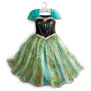 Frozen Princess Anna Coronation Dress, Anna Dress, Frozen Princess Anna Dress, #N8520