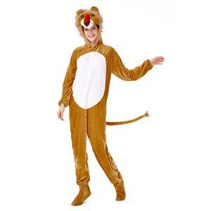 Animal Lion One-piece Pajamas, Exclusive Monster Costume, Exclusive Halloween Monster Costume, Animal Halloween Costume, Funny Furry Animal Monster Costume, Monster Halloween Costume, Circus Girl Clown Cosplay, #N19426