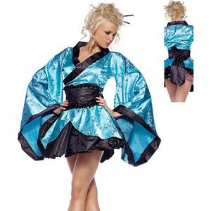Geisha Costume, Geisha Girl Costume, Sexy lingerie wholesale from China, #G1990