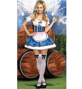 German Beer Beauty Costume N9166