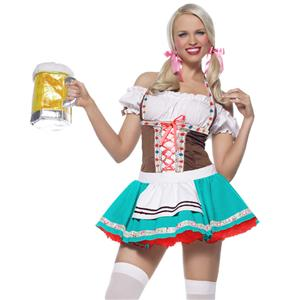 Oktoberfest Darling Costume, Octoberfest Costume, Beer Girl Costume, #N5180