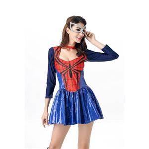 Sexy Girl Spider Vigilante Dress Halloween Costume N11682