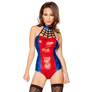 Tangled Web Costume, Sexy Spider Girl Costume, Womens Spider-man Costume, Halloween Costume, #N11787