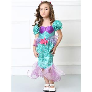Girls Ariel Costume, Girls Costume, Ariel Costume for Girls, #N4578