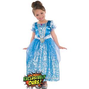 Girls Classic Cinderella Costume, Disney
