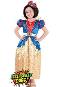 Girls Classic Snow White Costume, Snow White Costume, Girls Snow White Costume, #N4687