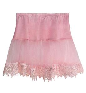 Cheap Cute Petticoat, Girls Pink Petticoat, Hot Selling Mesh Petticoat, #HG10172