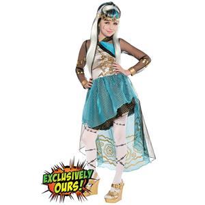 Girls Frankie Stein Costume Supreme, Monster High Costume, Supreme Frankie Stein Costume, #N5755