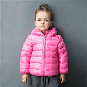 Girls Hooded Puffer Jacket, Girls Down Jacket, Winter Clothing for Girls, Winter Coat for Girls, #N12332