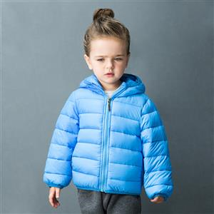 Girls Hooded Puffer Jacket, Girls Down Jacket, Winter Clothing for Girls, Winter Coat for Girls, #N12333