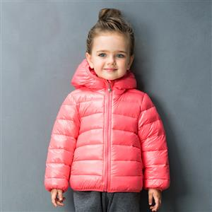 Girls Hooded Puffer Jacket, Girls Down Jacket, Winter Clothing for Girls, Winter Coat for Girls, #N12334