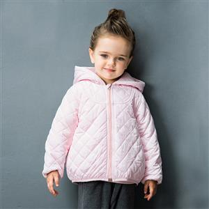Girls Classic Hooded Quilted jacket, Girls Down Jacket, Winter Clothing for Girls, Winter Coat for Girls, #N12335