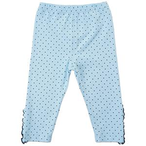 Girls Polka Dot Print Lace Trim Leggings, Girls Fall Clothing, Leggings for Girls, Girls Pants,  #N12237