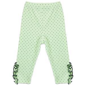 Girls Polka Dot Print Lace Trim Leggings, Girls Fall Clothing, Leggings for Girls, Girls Pants,  #N12240