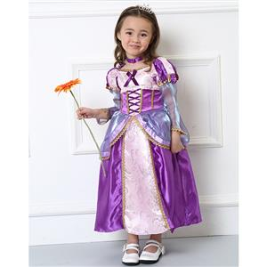 Girls Rapunzel Costume, Girls Rapunzel Costume Supreme, Girls Costume, #N4583