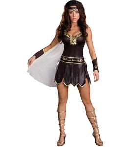 Gladiator Queen Costume, Babe-a-lonian Warrior Queen, Sexy Gladiator Costume, #N4273
