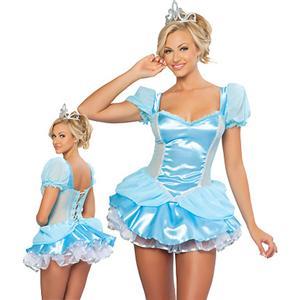 Midnight Cinderella Costume, Glass Slipper Beauty Costume, Princess Costume, #N3320