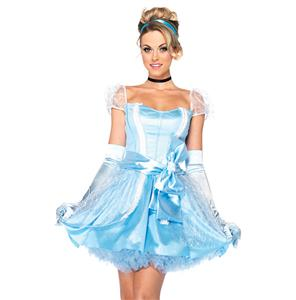 Glass Slipper Cinderella Costume N6560