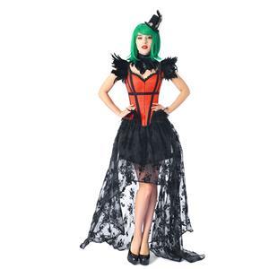 Fashion Body Shaper Corset, Cheap Outerwear Corset Skirt Set, Retro Overbust Corset Skirt Set,Wide Shoulder Straps Overbust Corset and Skirt Set, Plastic Bone Shapewear Overbust Corset Set, #N20221