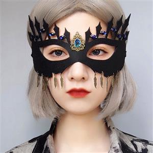 Halloween Masks, Costume Ball Masks, Masquerade Party Mask, Adult and Child Mask, Gothic Sexy Eye Mask, Animal Masks, #MS21434