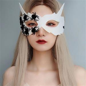 Halloween Masks, Costume Ball Masks, Masquerade Party Mask, Adult and Child Mask, Gothic Sexy Eye Mask, Animal Masks, Halloween Devil Cospaly Mask, Anime Cosplay Mask, #MS21436
