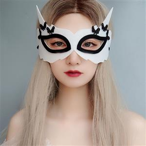 Halloween Fox Masks, Costume Ball Masks, Masquerade Party Mask, Adult and Child Mask, Gothic Sexy Eye Mask, Animal Masks, Halloween Devil Cospaly Mask, Anime Cosplay Mask, #MS21438